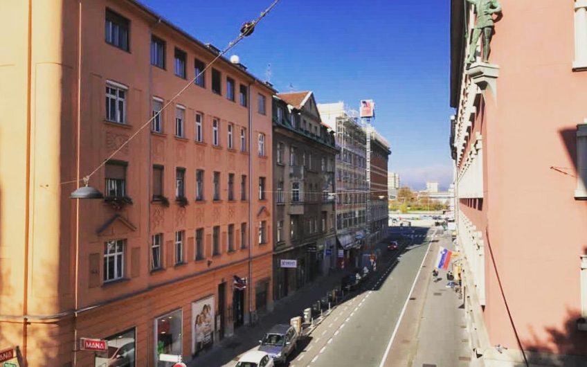 Svetle prostorne sobe v centru Ljubljane